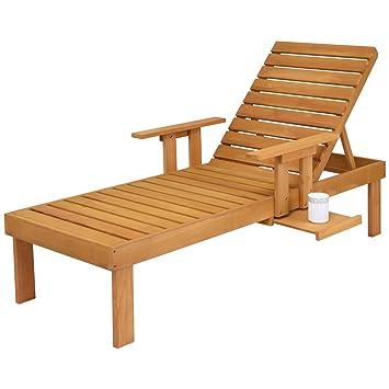 Amazonde Costway Sonnenliege Gartenliege Relaxliege Liegestuhl