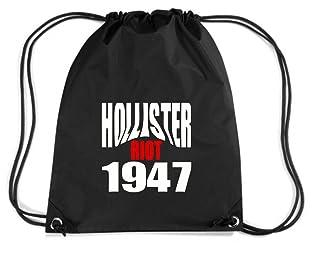T-Shirtshock - Mochila Budget Gymsac OLDENG00523 hollister riot 1947