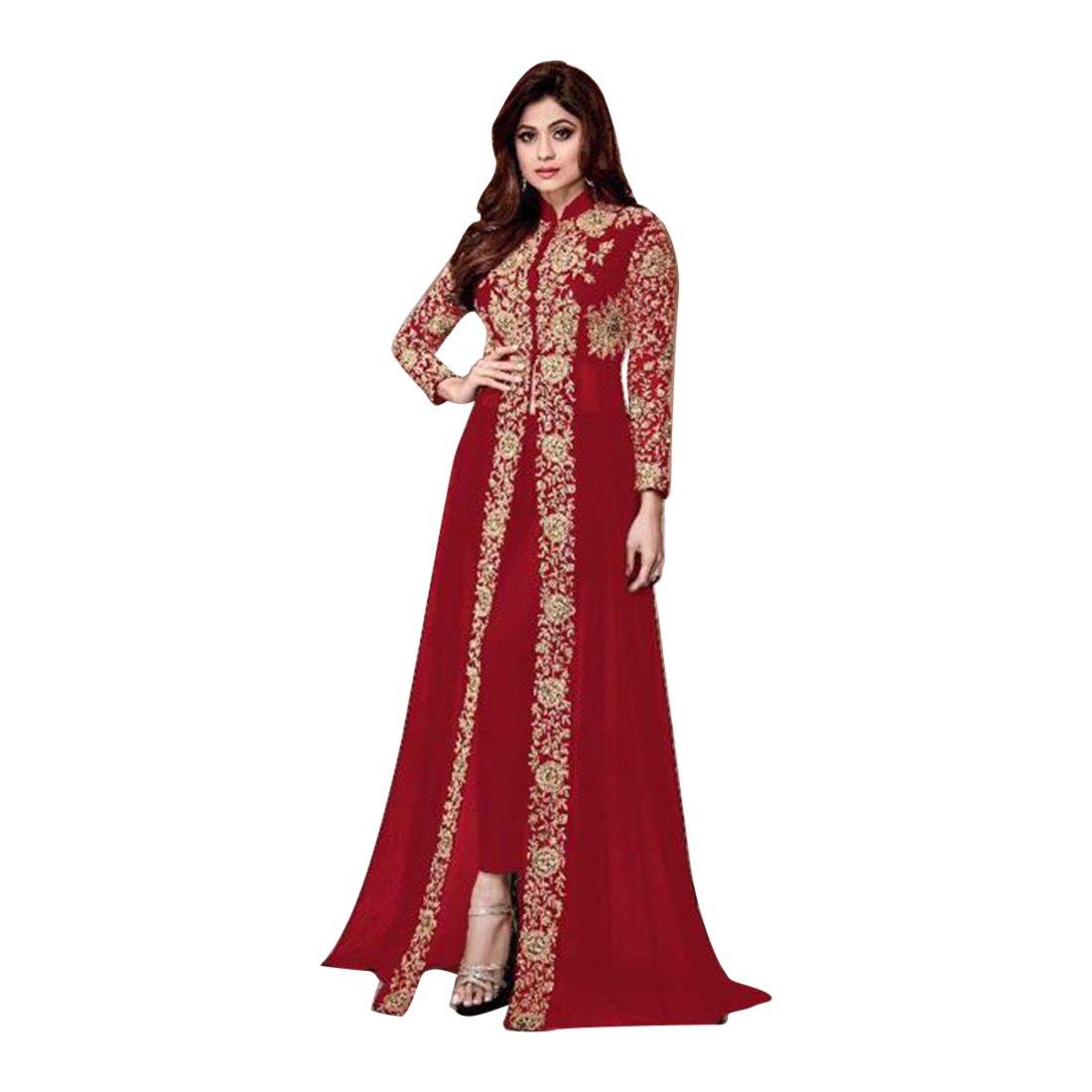 Maßanfertigung Pakistanische muslimische Frauen Kleid Zeremonie ...