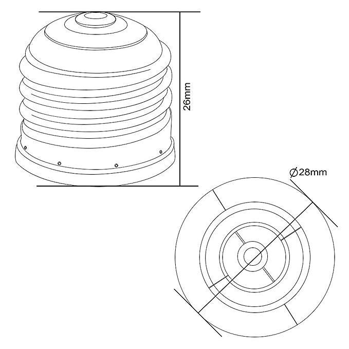 Amazon Com 2 Pcs E26 To E12 Adapter