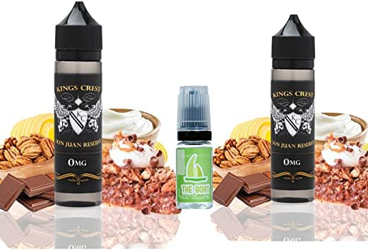 E Liquid Kings Crest Don Juan Reserve 50ml (Pack 2 unidades) - 70vg 30pg - booster shortfill +