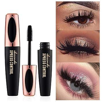6a56eefed3d Boocean 4D Silk Fiber Mascara Black Waterproof Eye Cosmetic Tool Eyelash  Extension Lengthening Thickening