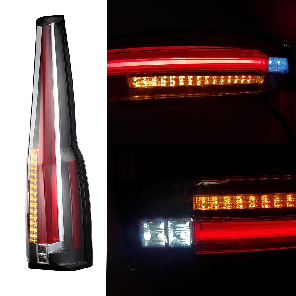 Vland LED Tail Lights For Chevy Chevrolet Suburban Tahoe GMC Yukon Denali  2007-2014