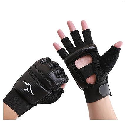 Amazon Com Wonzone Half Finger Taekwondo Training Boxing Gloves