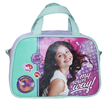 Amazon.com: Soy Luna BAG HAND BAG Disney beauty case with flap. bag hand bag backpack soy luna: Amazon Global Store UK