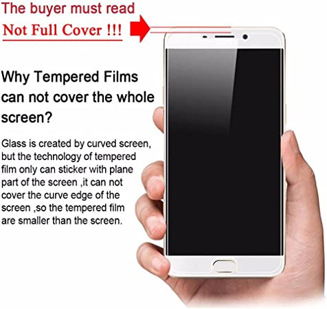 Wolfsay Screen Protector 3pcs Tempered Glass for LeEco Cool 1 Cover Screen Protector For Leeco Coolpad Cool 1 R116 Cool1 Dual C106 c106-7 LeRee Le3: Amazon.es: Electrónica