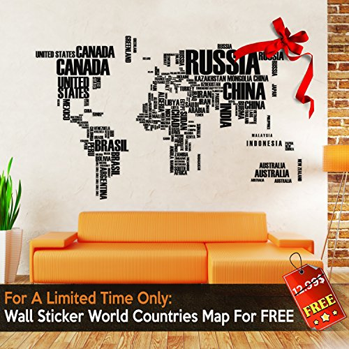 Scratch Off World Map By Amazmap: Travel Poster With Memory Activity Stickers, Detailed Map With USA, Canada And Australia Outlines –With Scratching Tool, Eraser, Magnifier And E-Books Photo #9