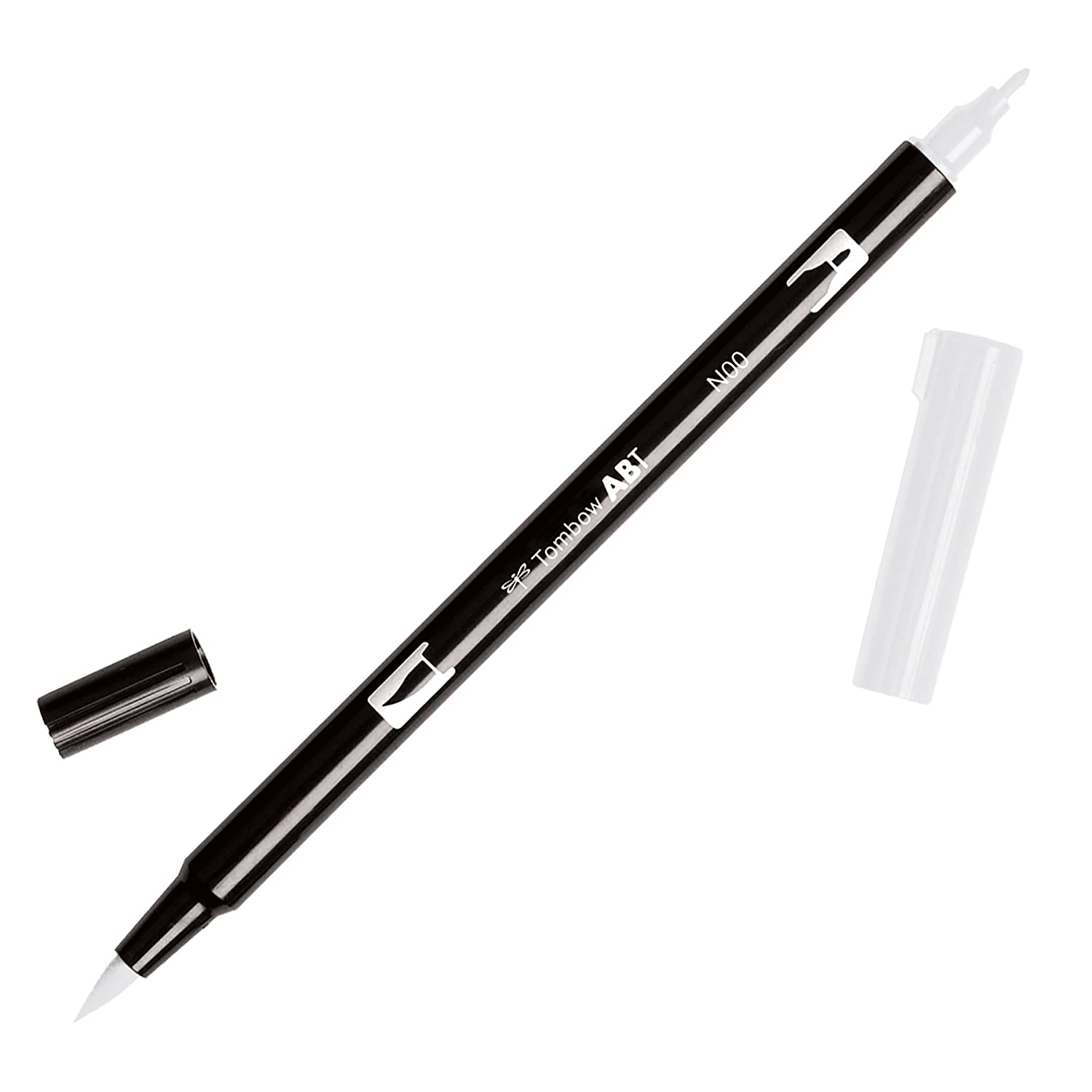 Tombow Dual Brush Pen Art Marker, N00 - Colorless Blender, 1-Pack