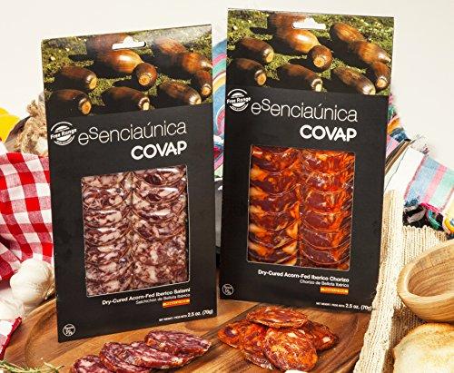 (Iberico de Bellota Deli Duo Chorizo and Salami Sliced (5 oz))