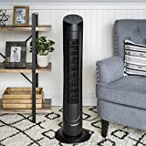 quiet small tower fan - Best Choice Products 40in Quiet Oscillating Standing Floor Tower Fan w/ 3 Speeds, Timer, and Remote Control - Black