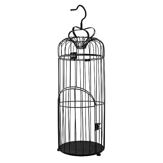 PrimoLiving P-888 - Jaula para pájaros (Metal, 75 cm), Color Negro ...