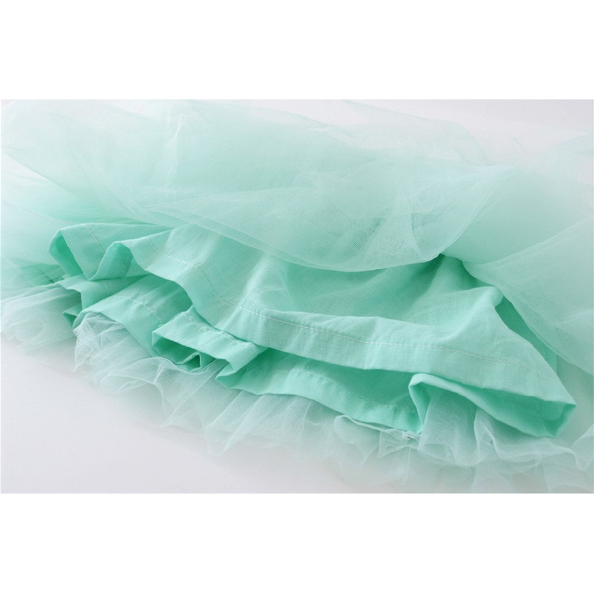 LKXHarleya Summer Style Lovely Ball Gown Dance Mini Skirt Girls Tutu Skirt for 2-7 Years Old Kids Skirt
