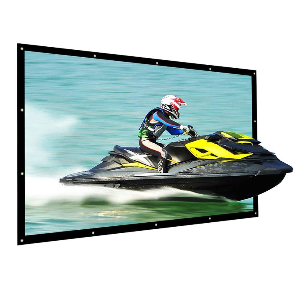 Pantalla Proyector NIERBO Pantalla Proyección Portátil Universal : X cm pantalla proyector