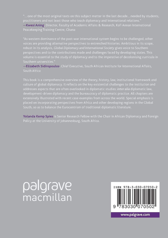 Global Diplomacy and International Society: Amazon co uk