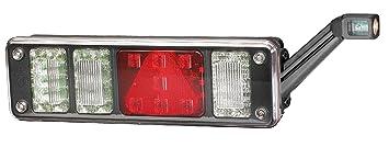 mit Hybridtechnologie mit Halter links 24V HELLA 2VP 340 961-111 Heckleuchte mit Gl/ühlampen