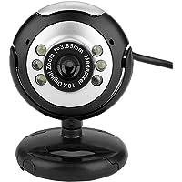 Richer-R Mini Webcam USB2.0 para Computadora/Notebook / Computadora de Escritorio,Cámara Web Extraíble Universal para Windows 98 / XP/Window 2000 / Win 7 / Win 8