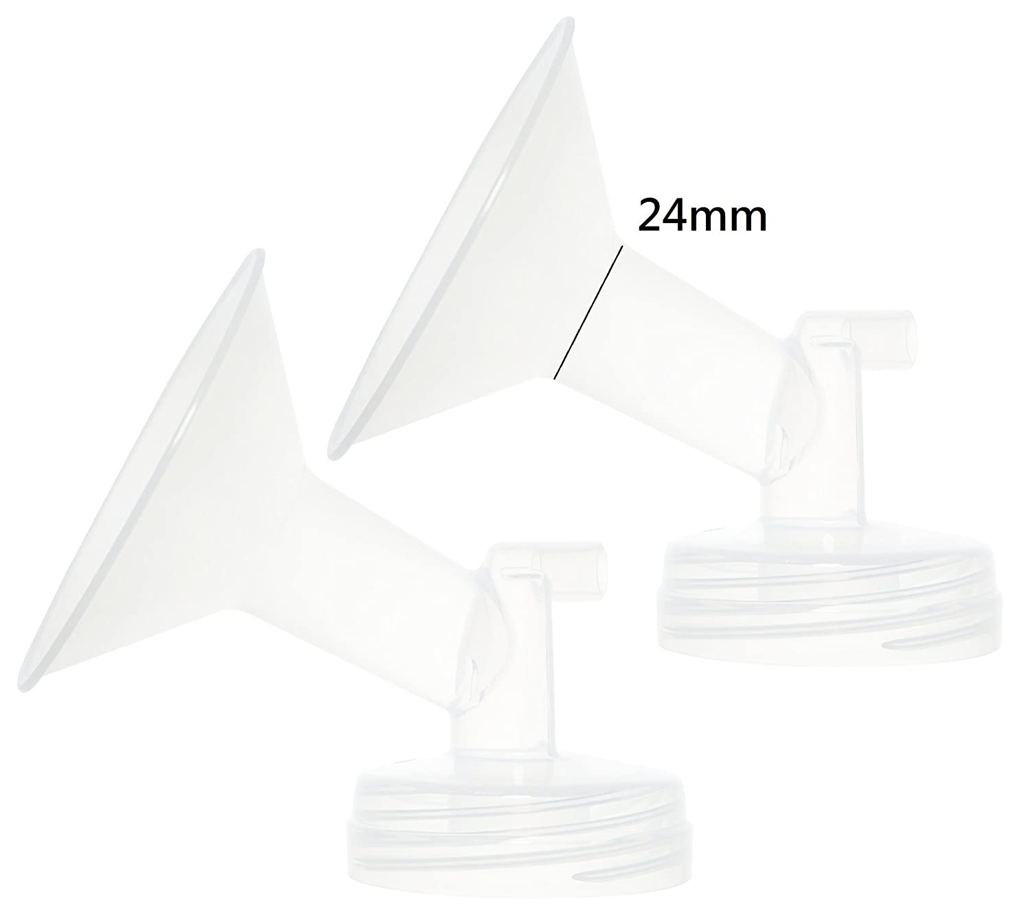 Nenesupply Generic Flange 21mm for Spectra S2 Spectra S1 Spectra 9 Plus Breastpump. Made By Nenesupply. Not Original Spectra Flange Not Original Spectra Baby USA Parts Use with WideMouth Bottle (Flange 21mm (S)) N052SF.24