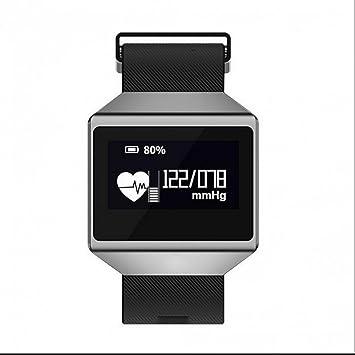 aktivitätstracker inteligente reloj Fitness pulsera calorías Running Finder anti de Lost Tensiómetro de teléfono reloj: Amazon.es: Electrónica