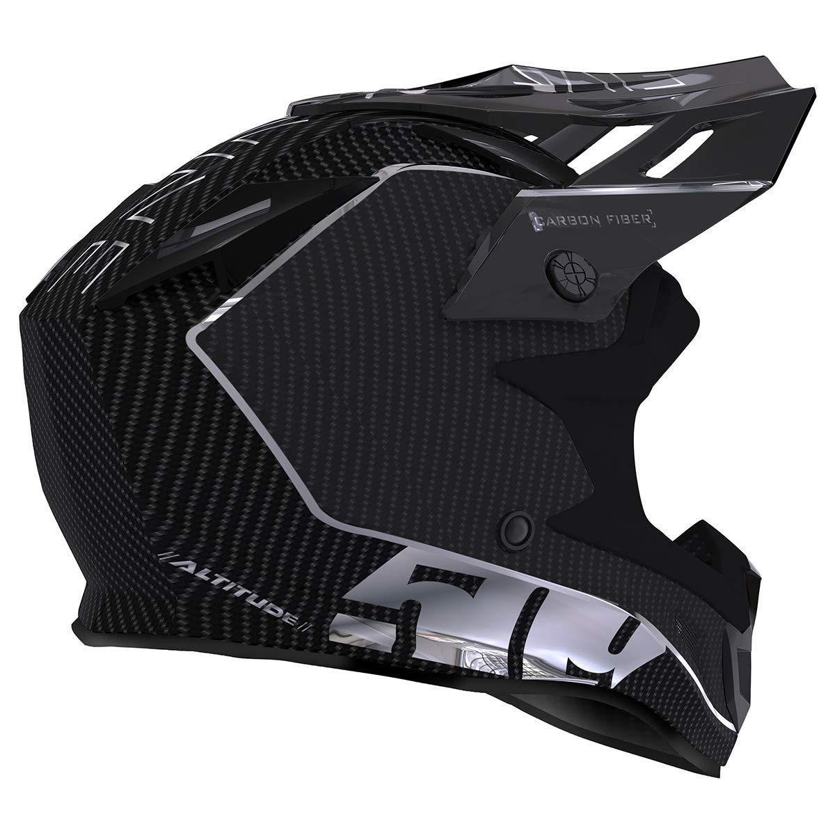 509 Altitude Carbon Fiber Helmet with Fidlock Off Grid Hi-Vis - Small F01000500-120-502