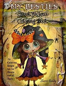 My-Besties Spookylicious Coloring Book