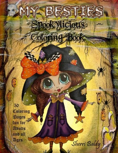 Download My-Besties Spookylicious Coloring Book pdf
