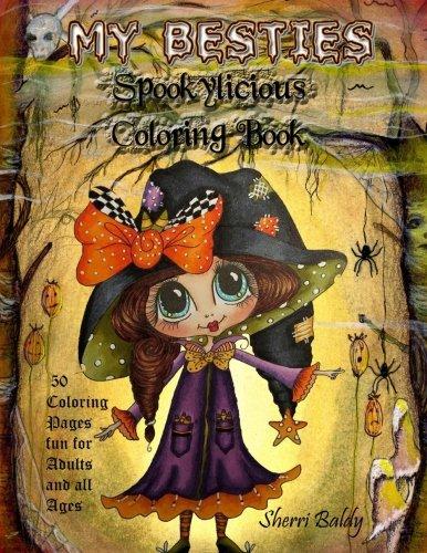 Read Online My-Besties Spookylicious Coloring Book PDF