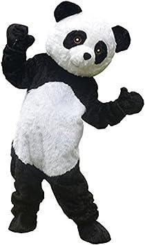 Profesional oso panda mascota disfraz adulto disfraz de tamaño ...