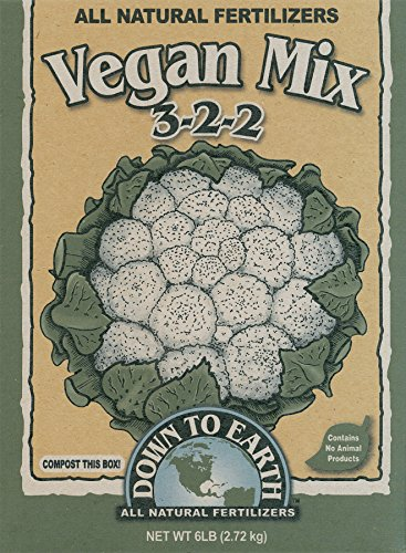 Earth Mix - Down To Earth 6-Pound Vegan Mix 3-2-2 7822