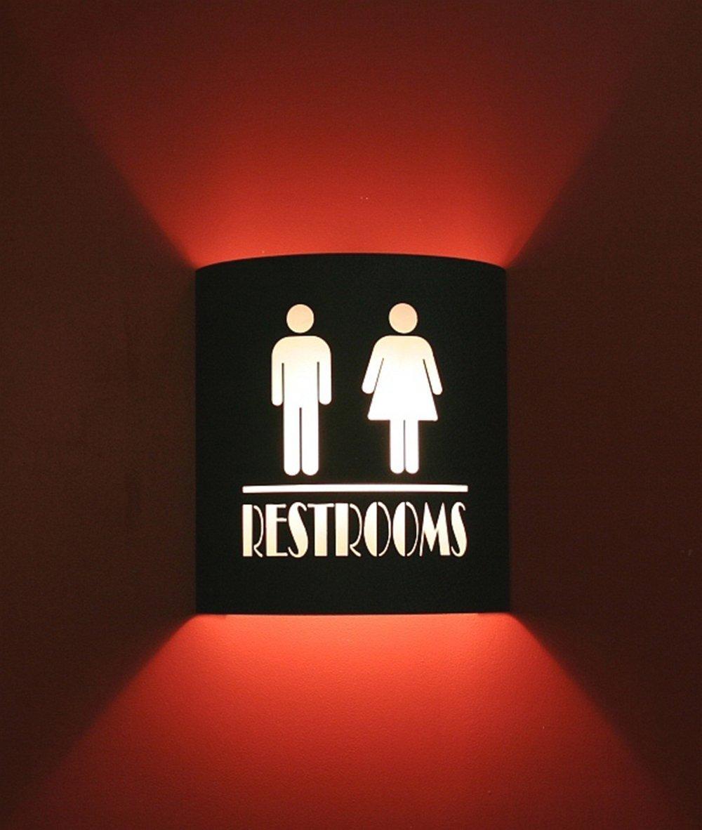 Restroom Black Home Movie Theater Sconces