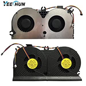 YEECHUN Replacement CPU Fan for HP EliteOne 705 G1 800 G1 All-in-one Series Part Number: 733489-001 023.10006.0001 DFS602212M00T FC2N MF80201V1-C010-S9A (with Free CPU Cooling Fan Thermal Grease)