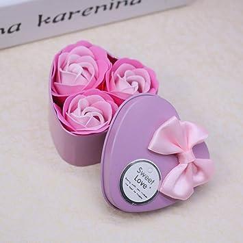 Seifenblume Herz Duftende Bad Körper Blütenblatt Rose Blume