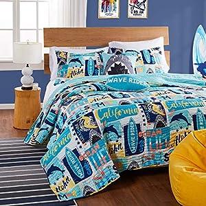 61T5TzMaIhL._SS300_ Surf Bedding Sets & Surf Comforter Sets