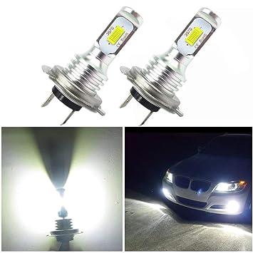 WLJH Lighting Super Bright H7 luces antiniebla LED de alta potencia 3570 CSP-Chip para