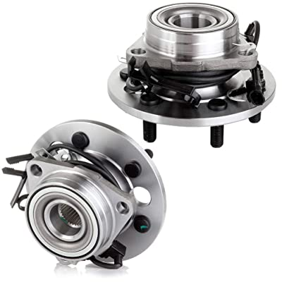 FINDAUTO Replacement Assemblies Bearings fit for 99-00 Cadillac Escalade 95-99 Chevrolet K1500 95 Chevrolet K2500 Replace 515024 Front Wheel Hub Bearing Assembly x2: Automotive