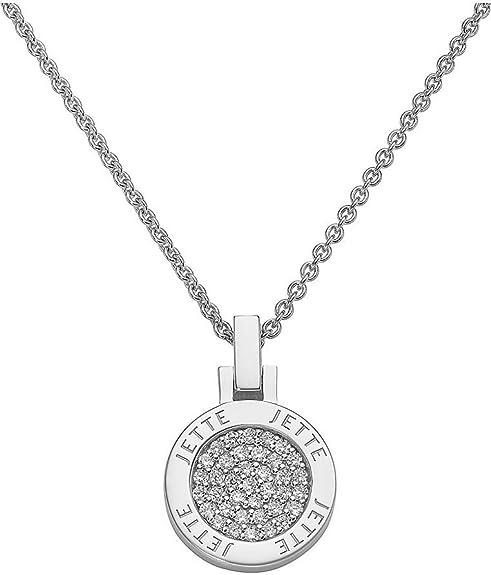 JETTE Silver Damen Kette 925er Silber 37 Zirkonia One Size 85843737