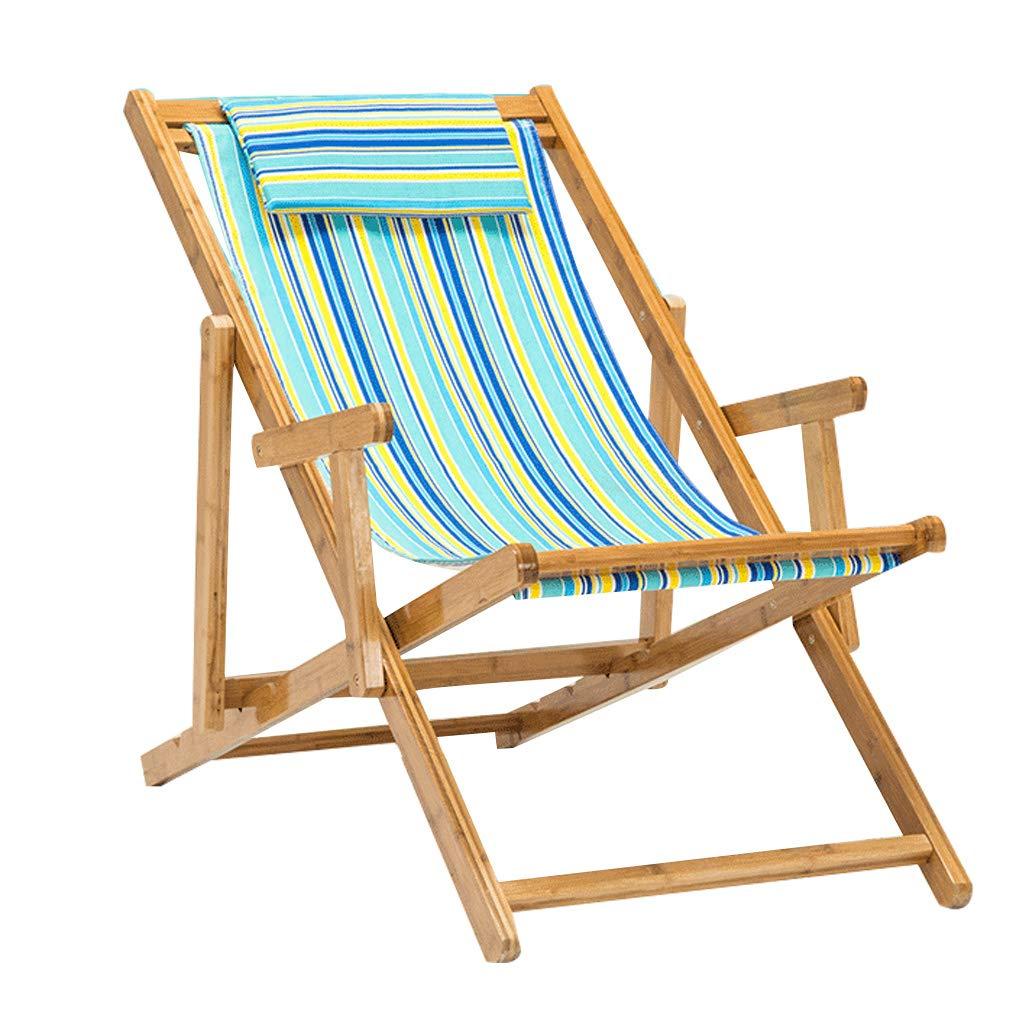 Amazon.com: Silla reclinable ajustable para jardín, asiento ...