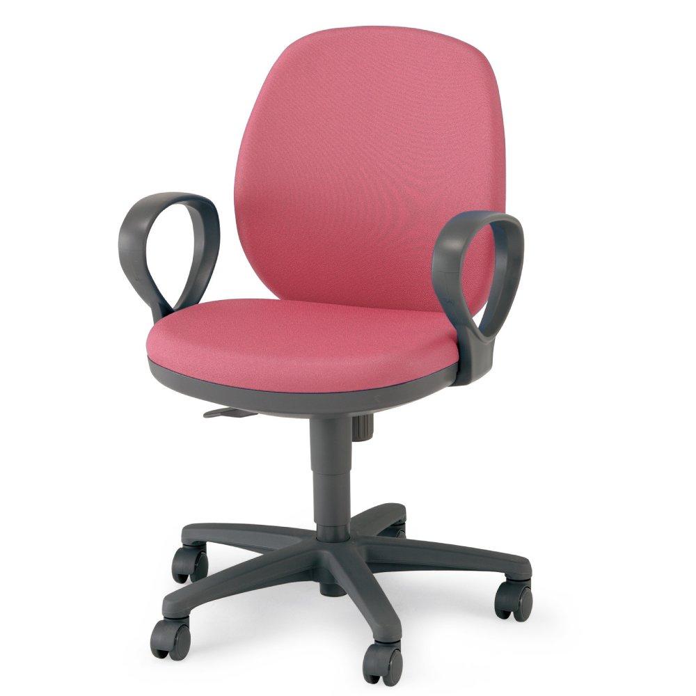 【配送組立設置込】 コクヨ オフィスチェア メディックスチェア2 HCR-G611KR2NN ローバック サークル肘 ピンク B001TUUTJW ピンク ピンク