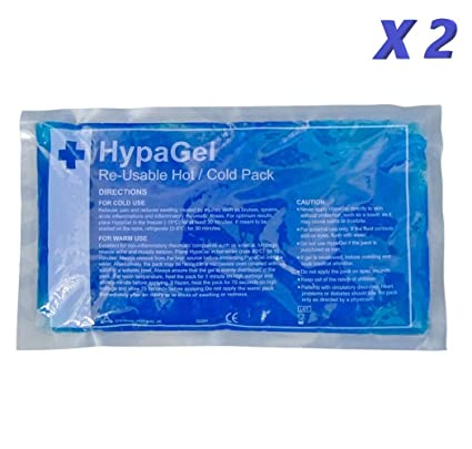 HypaGel compresa de gel reutilizable para frío y calor ...