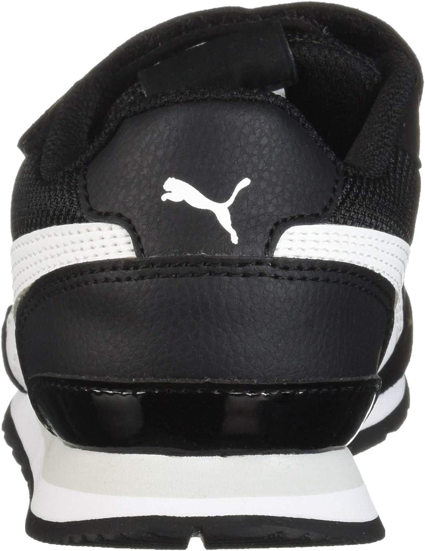   PUMA Kids' St Runner hook and loop fastener Sneaker   Shoes
