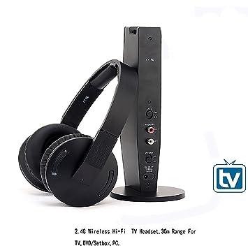 Auriculares inalámbricos para TV, Artiste ADH500 Hi-Fi 2,4 gHz Auriculares para