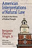 This book illustrates the deep roots of natural law doctrines in America's political culture. Originally published in 1931, the volume shows that American interpretations of natural law go to the philosophical heart of the American regime. The Declar...
