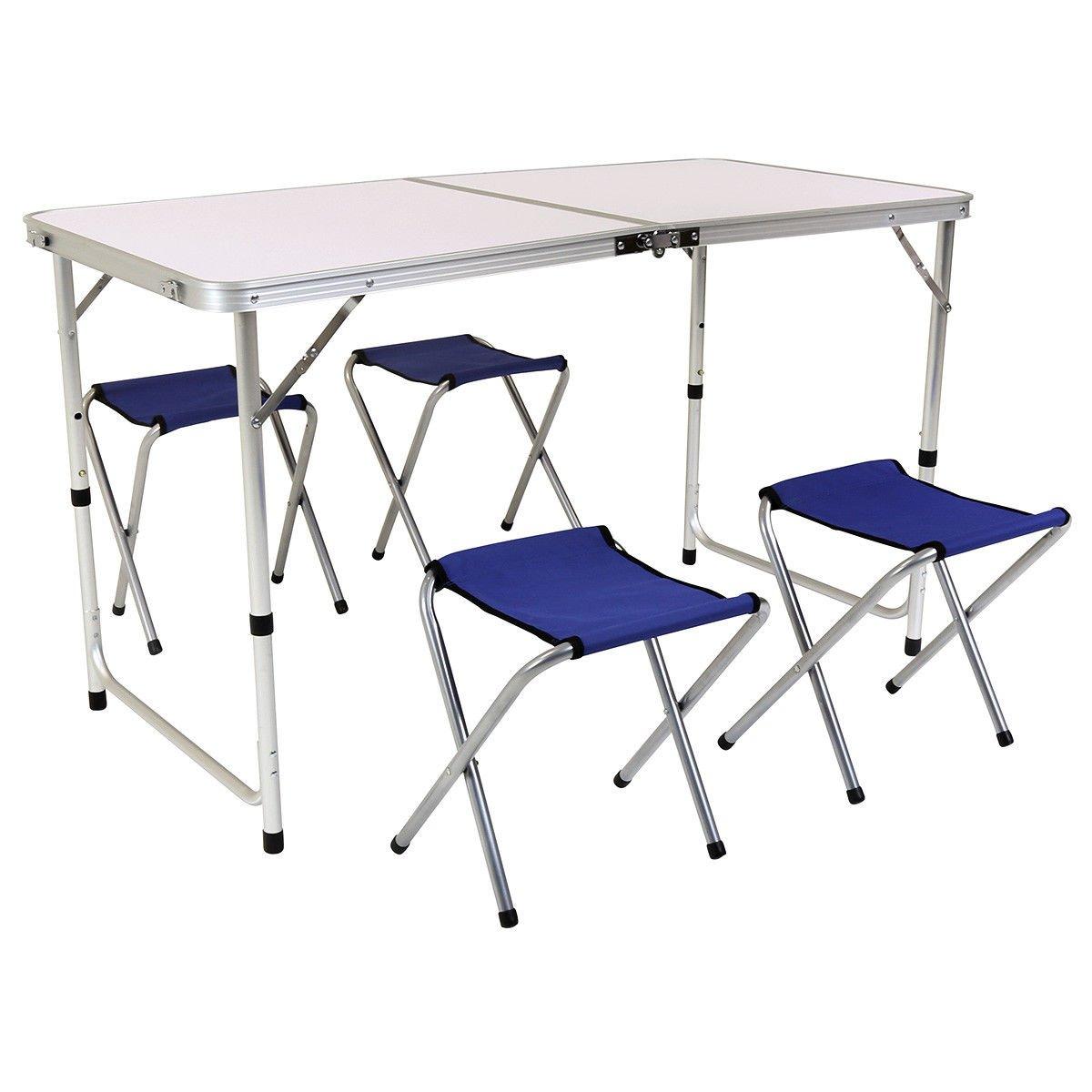 Generic ble - Juego de sillas Plegables para pícnic o Camping NV_1001007426-YCUK2-S1-180607