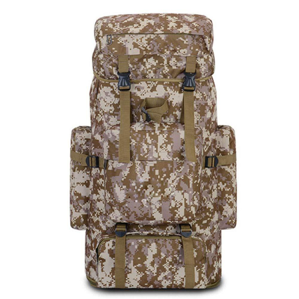 AGYE Sac /à Dos Militaire Camouflage Sac /à Dos dassaut Tactique Sac De Jour Imperm/éable Haute Capacit/é 85L Randonn/ée en Plein Air Camping Trekking Chasse,E