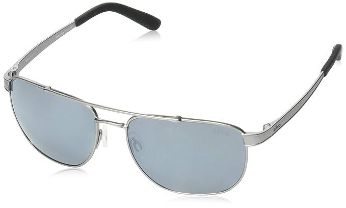 88c38d6dbfd Amazon.com  Revo Unisex RE 1046 Archer Rectangular Crystal Lenses Polarized  Sunglasses