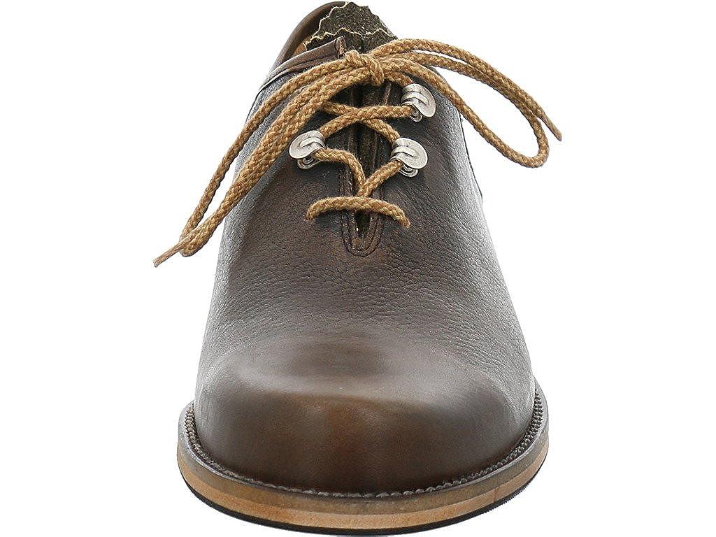 17fd2cc05a46a3 dirndl + bua Trachtenschuh 6654 Santiago/Antikbock Oliv/Ahorn: Amazon.de:  Schuhe & Handtaschen
