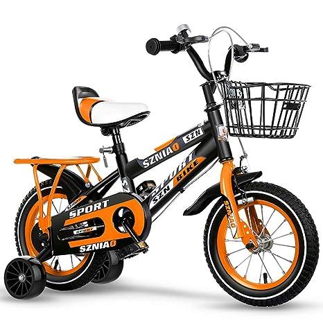 T5S6 Bicicletas niños, 2-8 años Chico y Chica Ciclismo, Bicicletas ...