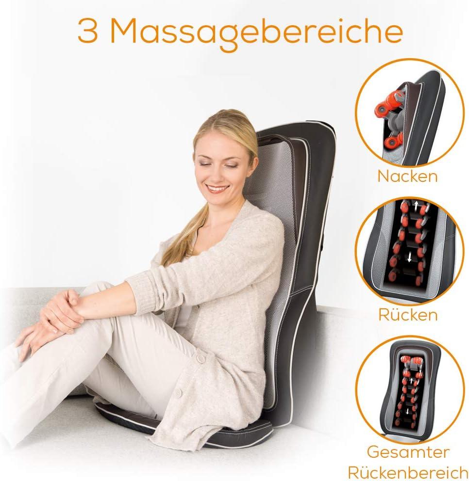 Sitzauflage für Rückenmassage