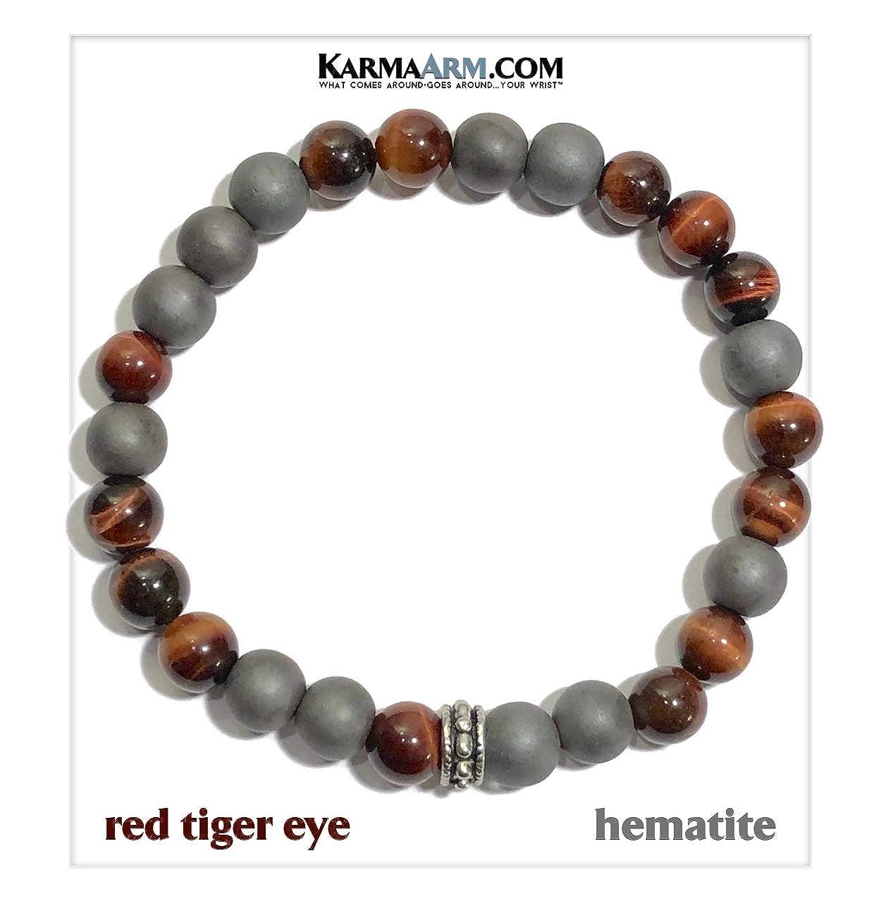 Amazon.com: KarmaArm Energy | Red Tiger Eye | Hematite ...
