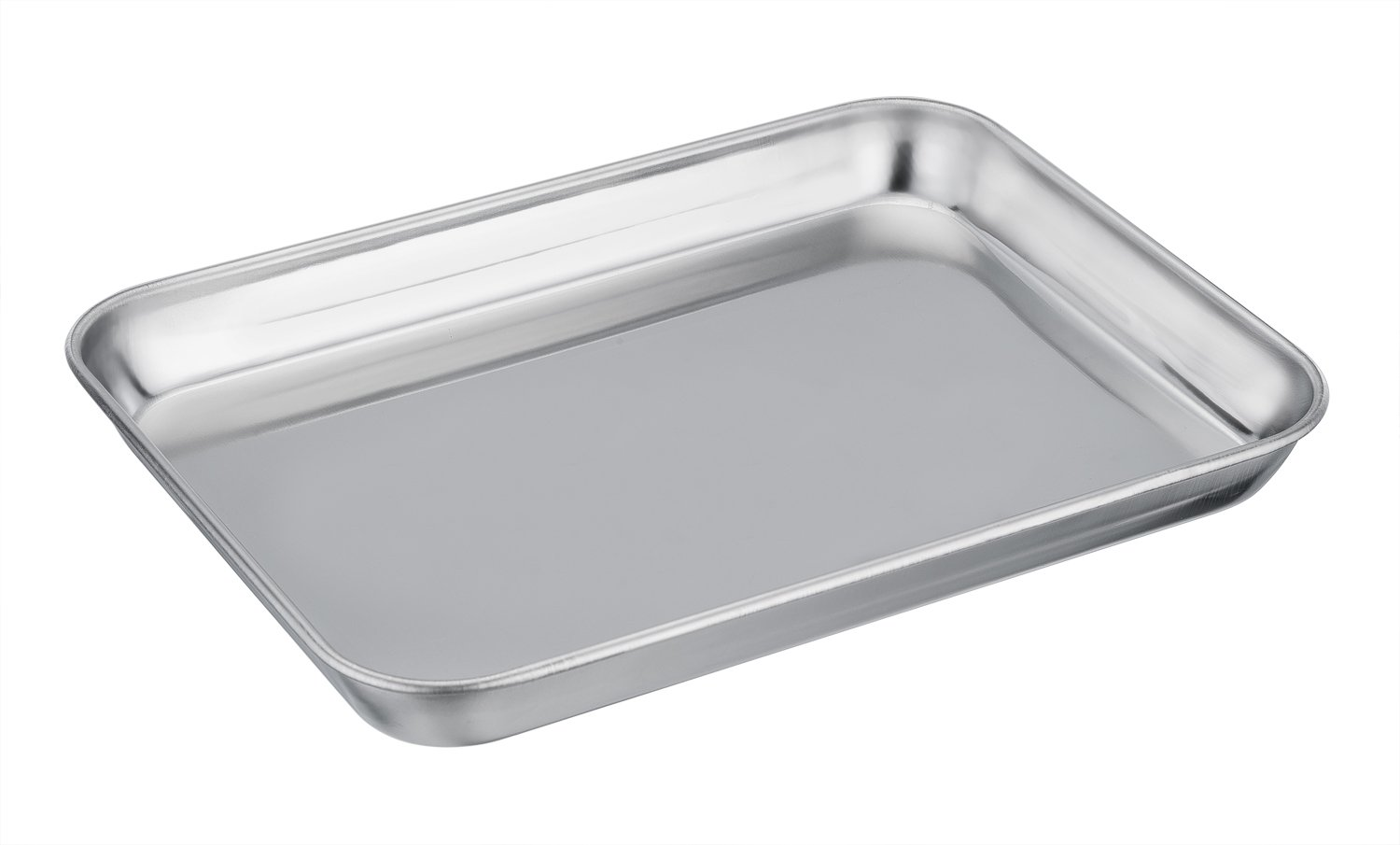 TeamFar Toaster Oven Tray and Rack Set, Stainless Steel Toaster Oven Pan Broiler Pan, Compact 7''x9''x1'', Non Toxic & Healthy, Easy Clean & Dishwasher Safe by TeamFar (Image #3)