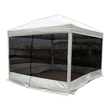 Goutime 10 x 10 Ft Pop Up Canopy Tent with Mesh Side Walls Outdoor Screen  sc 1 st  Amazon.com & Amazon.com : Goutime 10 x 10 Ft Pop Up Canopy Tent with Mesh Side ...